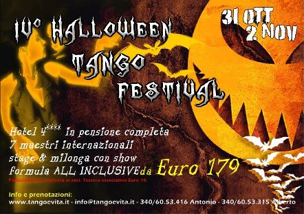 10° Halloween tango Festival