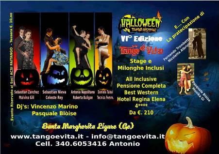 Halloween tango festival